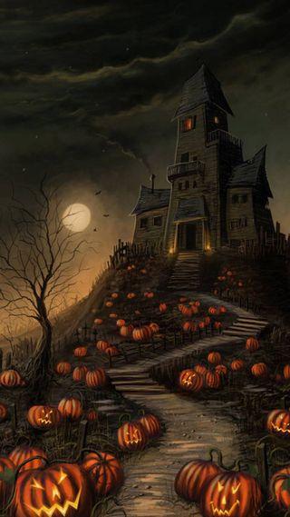 Обои на телефон холм, ужасные, ночь, spooky hill