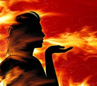 Обои на телефон женщины, огонь, любовь, women of fire, love