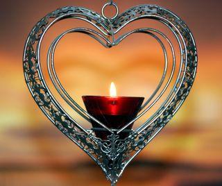 Обои на телефон сердце, свеча, романтика, любовь, красые, love