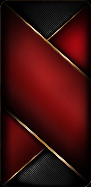 Обои на телефон черные, красые, карбон, золотые, грани, абстрактные