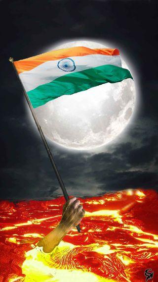 Обои на телефон индия, флаг, триколор, август, tiranga, 26 january, 15 august
