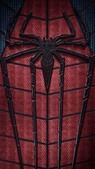Обои на телефон человек паук, черные, синие, паук, красые, hd