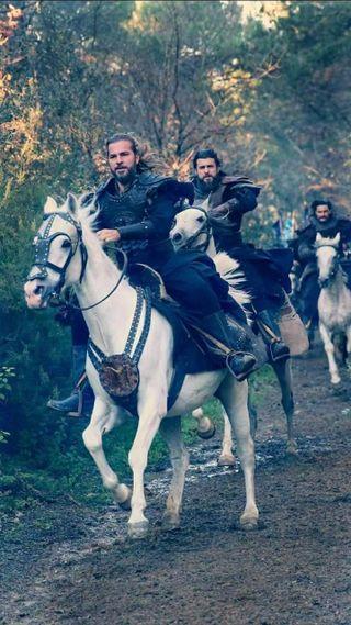Обои на телефон лошадь, дирилис, fighters, ertugrul, dirilis ertugrul