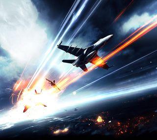 Обои на телефон самолет, игры, война, battlefield plane, battlefield
