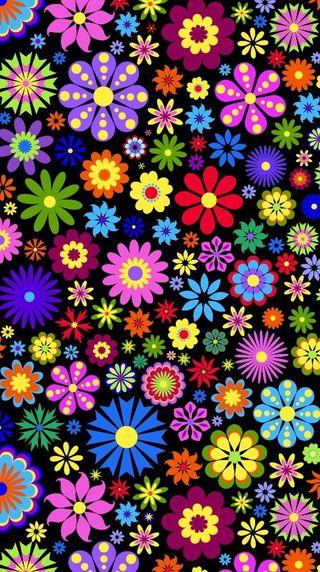 Обои на телефон сад, цветы
