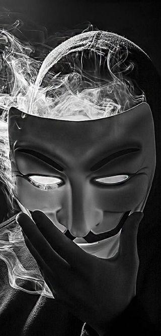 Обои на телефон хакер, череп, сахар, приятные, мяч, лицо, конфеты, девушки, готические, anonimus