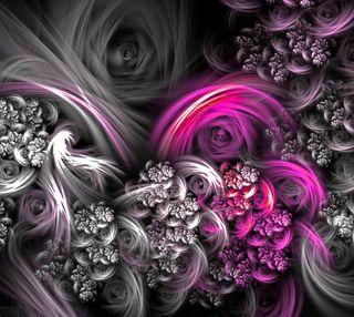 Обои на телефон мягкие, розовые