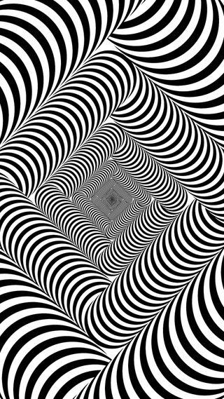 Обои на телефон твой, повредить, иллюзии, глаза, keep, optical, distance