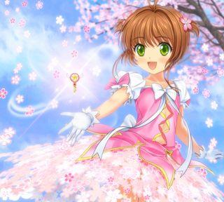 Обои на телефон сакура, цветы, прекрасные, милые, любовь, девушки, аниме, love