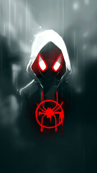 Обои на телефон человек паук, паук, моралес, майлз, verse