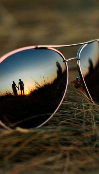 Обои на телефон стекло, солнечные очки, романтика, рамка, очки, мальчик, пара, любовь, девушки, rayban, love