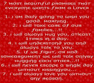 Обои на телефон написано, цитата, сердце, рисунки, прекрасные, милые, любовь, друзья, love, 7 beautiful promises