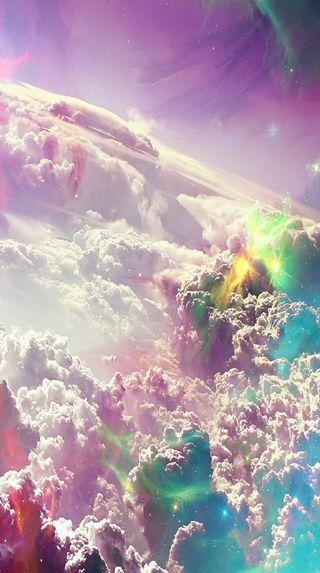 Обои на телефон солнце, облака, небо