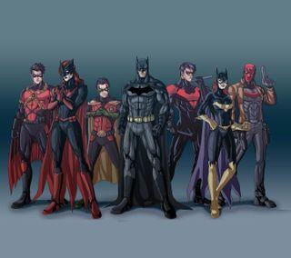 Обои на телефон символы, друзья, мультфильмы, бэтмен, batman and friends