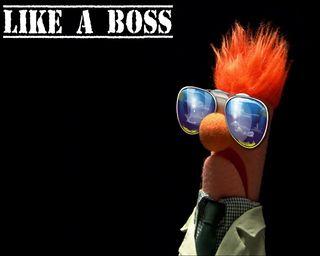 Обои на телефон лайк, босс, muppets, like a boss