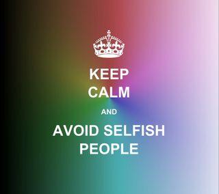 Обои на телефон цитата, текст, спокойствие, люди, selfish, keep, avoid