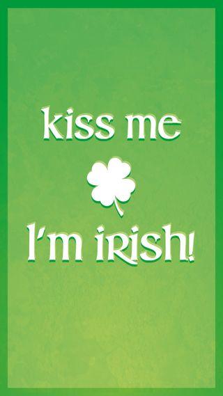 Обои на телефон ирландские, я, поцелуй, патрика, ирландия, зеленые, zedgestps, paddys, leprechaun, kiss me im irish