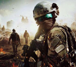 Обои на телефон teamwork, battlefield, новый, приятные, бой