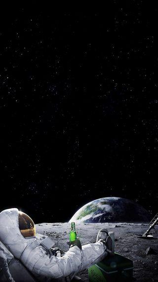 Обои на телефон поэма, мир, космонавт