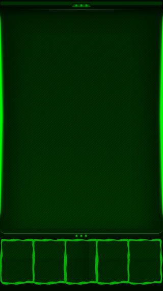 Обои на телефон квадраты, зеленые, грани, s7