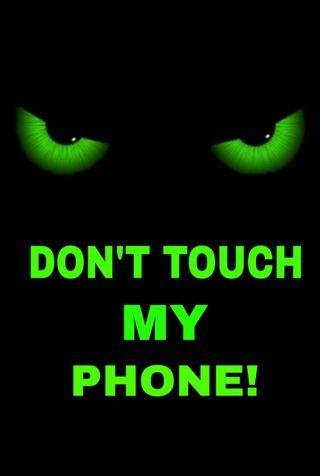 Обои на телефон отец, экран, трогать, телефон, спящий, сон, сегодня ночью, оно, не, parents, dont touch it