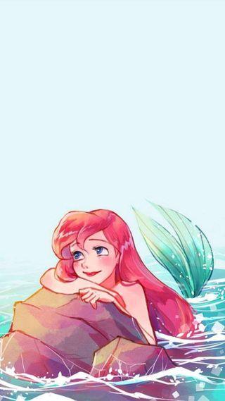 Обои на телефон русалка, принцесса, маленький, дисней, the little mermaid, disney