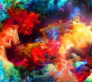 Обои на телефон взрыв, цветные, фон, красочные, дизайн, арт, абстрактные, color explosion, art