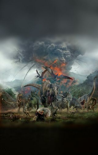 Обои на телефон юрский, упавший, парк, монтаж, мир, королевство, динозавр, rexy, jw, jurassic world edit, jurassic park, jp, fallen kingdom, dinosaurs