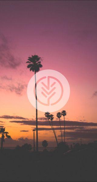Обои на телефон симпатичные, природа, небо, минимализм, закат, горизонт, восход, skyline, roots, hd, 929