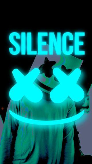 Обои на телефон тишина, маршмеллоу, музыка