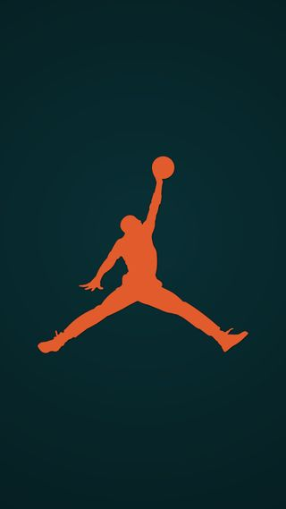 Обои на телефон баскетбол, спорт, оранжевые, найк, логотипы, козел, зеленые, джордан, бренды, бирюзовые, nike, jumpman, air