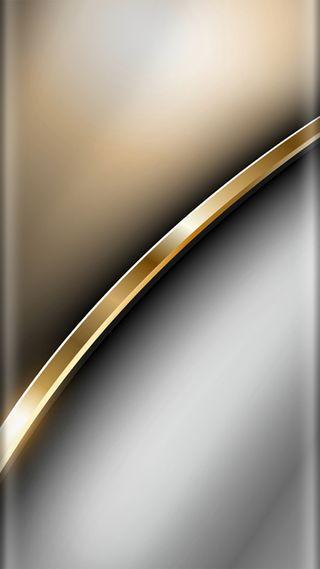 Обои на телефон стиль, серые, серебряные, золотые, дизайн, грани, абстрактные, s7, edge style