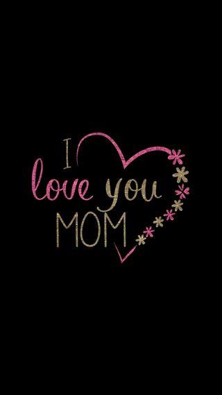 Обои на телефон смайлы, мама, любовь, maa, love u mom, love u, love