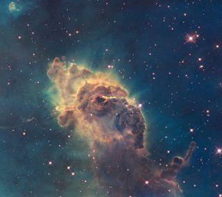 Обои на телефон туманность, свет, космос, звезды, галактика, galaxy