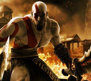 Обои на телефон кратос, война, бог, kratos - god of war
