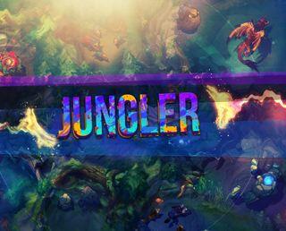 Обои на телефон лига, легенды, jungler