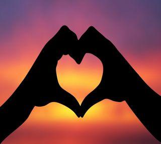 Обои на телефон руки, сердце, любовь, артистические, абстрактные, love
