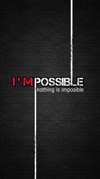 Обои на телефон поговорка, ничего, невозможно, мудрые, возможный, вдохновение