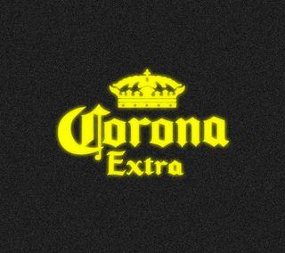 Обои на телефон корона, темные, пиво, неоновые, логотипы, желтые, corona extra