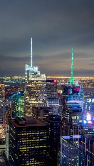 Обои на телефон новый, йорк, горизонт, skyline, new york skyline