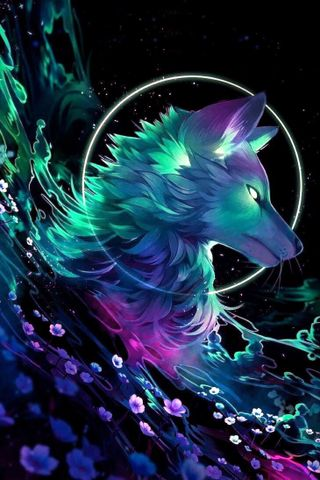 Обои на телефон сверхъестественное, цветы, темные, специальные, свобода, дикие, волк, wild and free