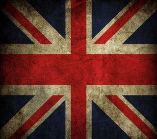 Обои на телефон англия, флаг, винтаж