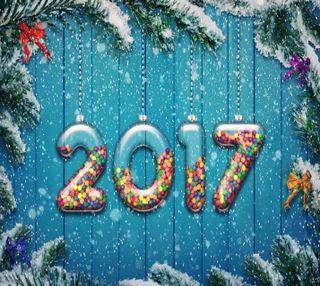 Обои на телефон год, украшение, счастливые, праздник, новый, new year happy, 2017