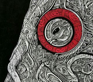 Обои на телефон слоны, слон, чернила, арт, elephant ink partial, art