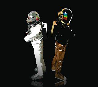 Обои на телефон электронный, панк, робот, музыка, дабстеп, арт, darkdroid, art