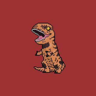 Обои на телефон скины, динозавр, traje, t-rex, dinosaurio