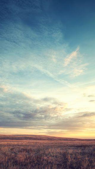 Обои на телефон рассвет, поле, прекрасные, небо, айфон, skay, iphone, field dawn sky, 750x1334, 6s