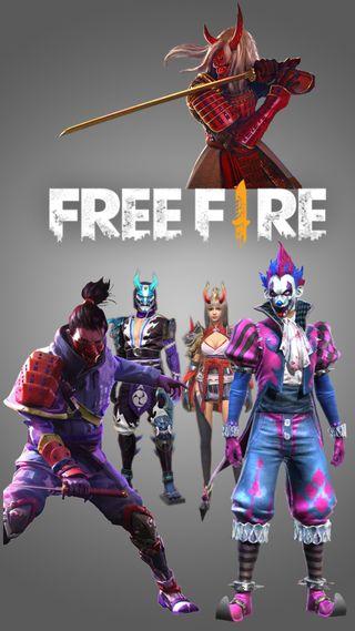 Обои на телефон свобода, самурай, огонь, мобильный, игра, джокер, война, royal, man, free fire samurai, free fire, battlegrond