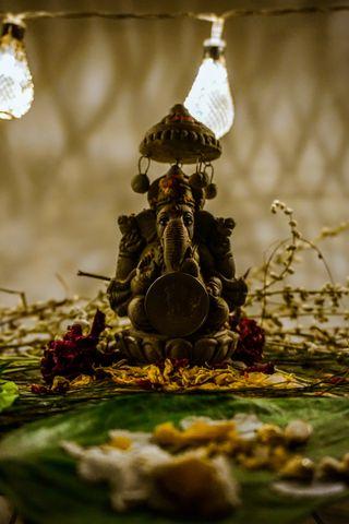 Обои на телефон храм, ганеша, индийские, господин, бог, immortal, hinduism