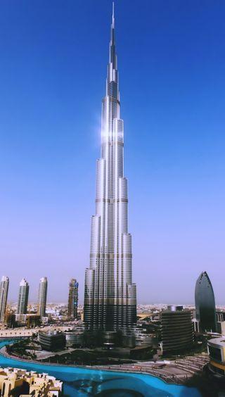 Обои на телефон здания, город, бурдж, duabi, burj khalifa
